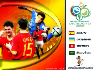 Spain World Cup 2010 Desktop Wallpaper